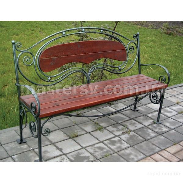 Кованые скамейки в Украине с доставкой