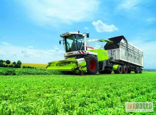 Услуги уборки урожая