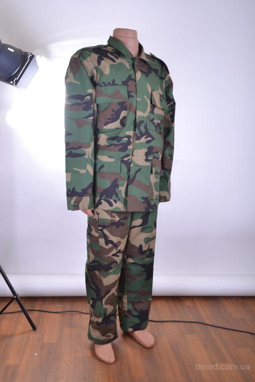Продается новый армейский костюм BDU woodland