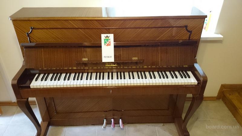 пианино petrof 115 poloschip