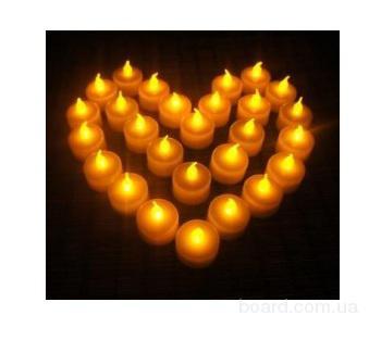 Свадебные свечи, Электронные свечи