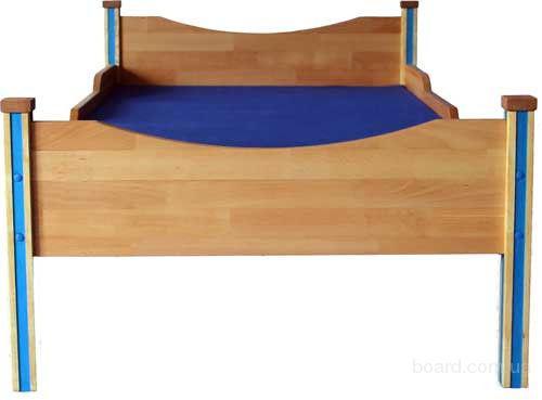 Детская кроватка из дерева Тура (70х140 см) Недорого!