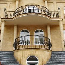 Кованые балконы от производителя в Украине