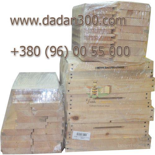 Купить улей 10-ти рамочный Дадан 300 dadan300.com
