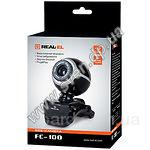 Web-камера REAL-EL FC-100 Black