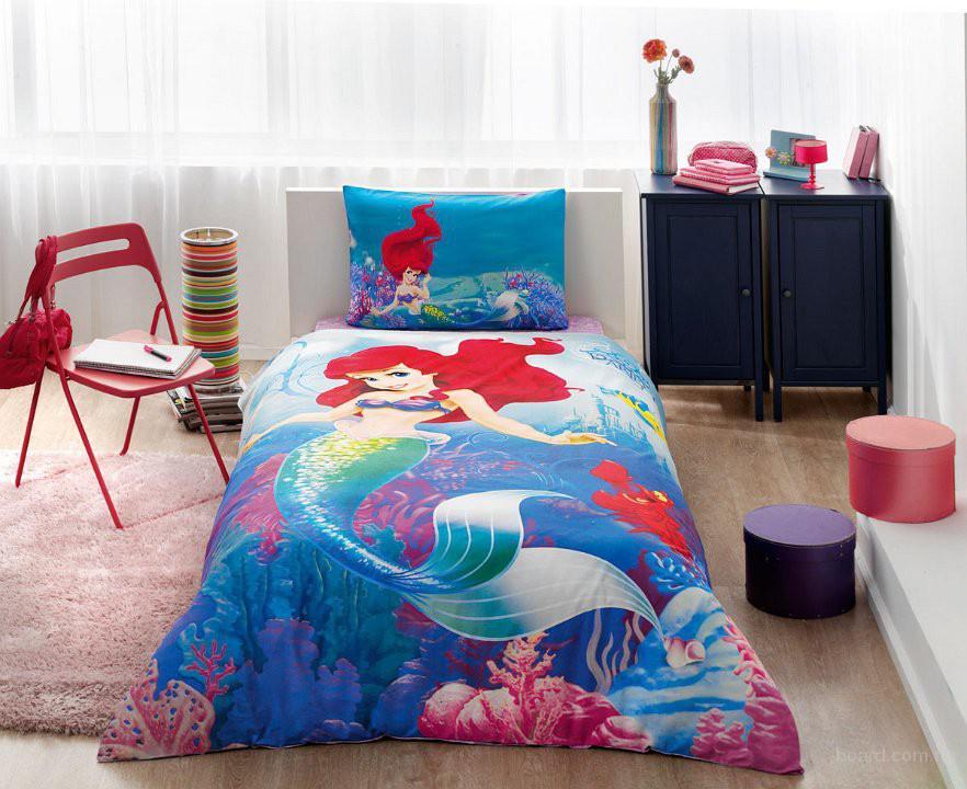 Постельное белье TAC детское Disney Ariel, лучшая цена