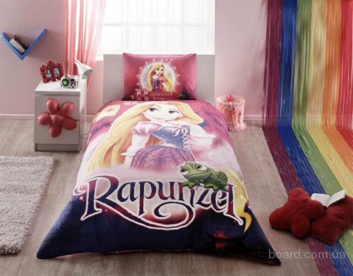 Детское постельное белье TAC Disney Rapunzel (Турция)