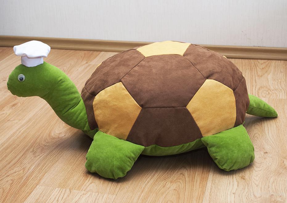 Бескаркасный пуф Черепаха