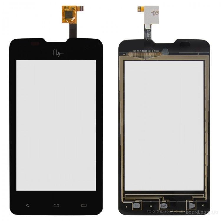 Сенсорный экран для мобильного телефона Fly IQ449 Черный