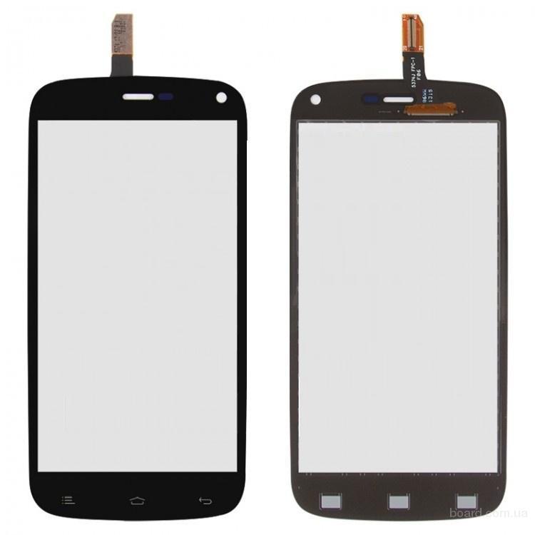 Сенсорный экран для мобильного телефона Fly IQ4410 Черный