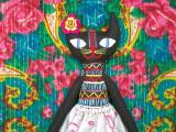 Кошка в стиле этно Кармен