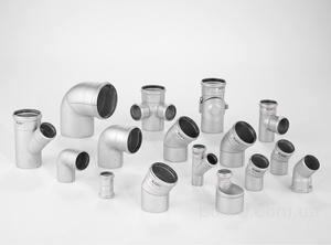 Трубы канализации н/ж AISI 316L ф50х1,0/ф75х1,0