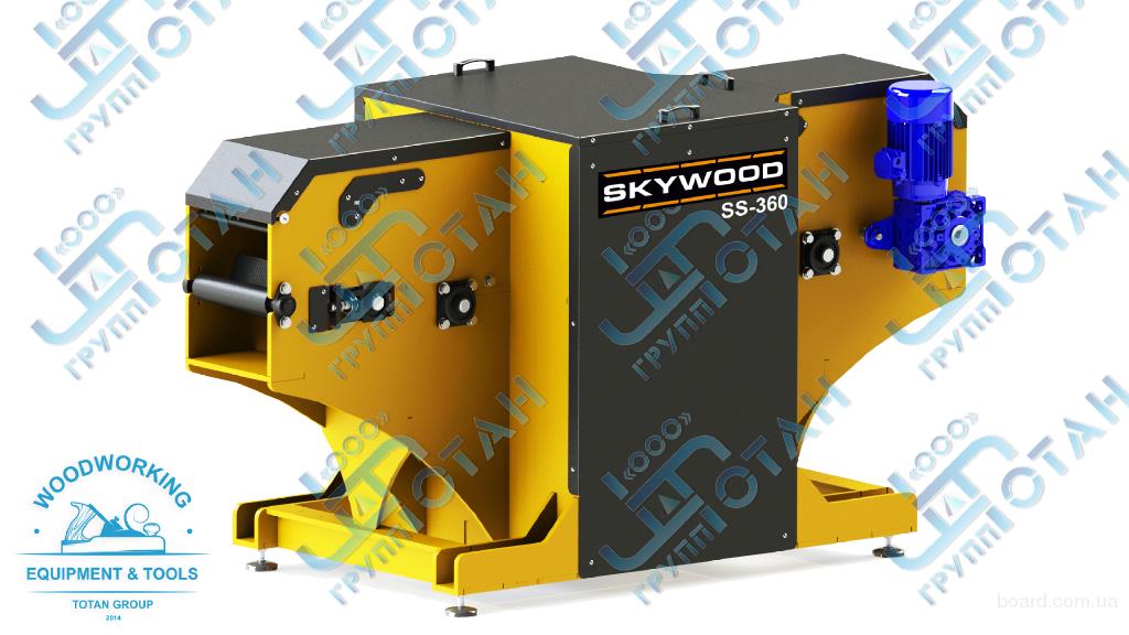 Станок двухвальный для переработки горбыля SkyWood SS-360