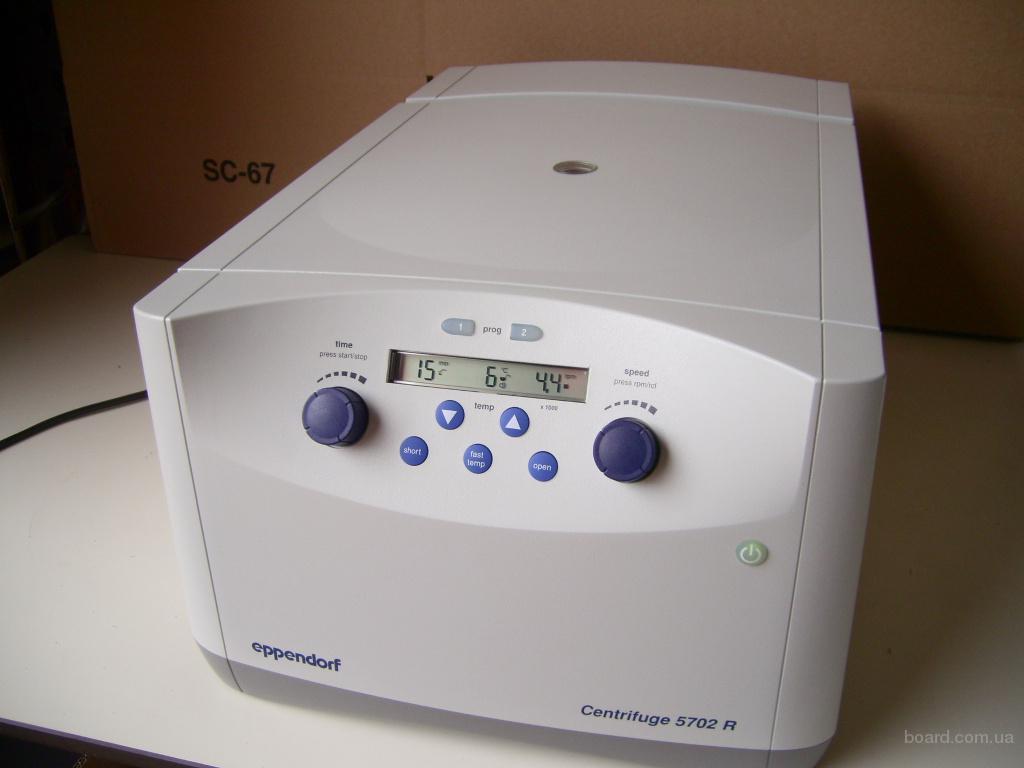 Продам новую лабораторную центрифугу Eppendorf 5702R с функцией охлаждения