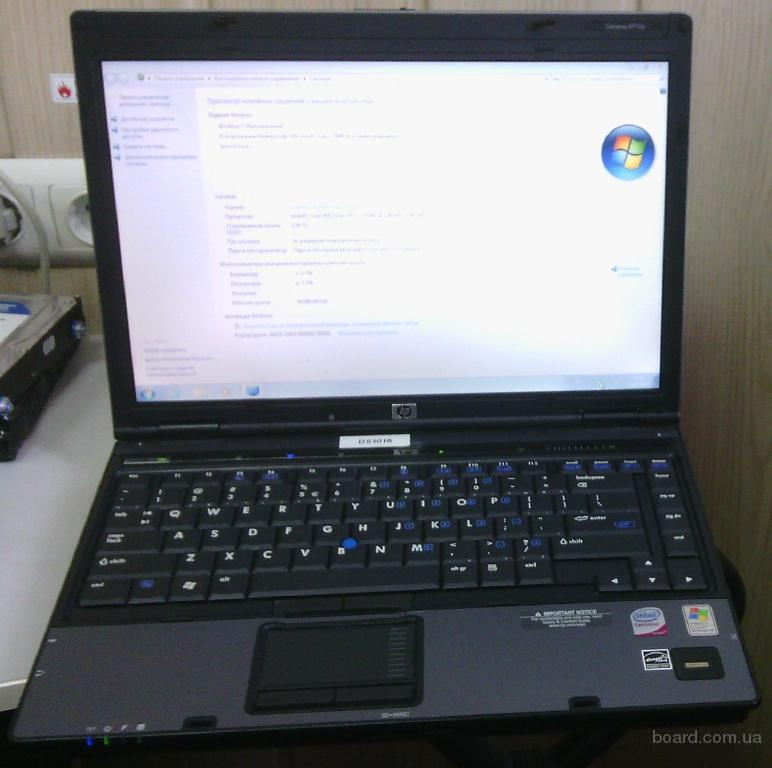 Б/у ноутбук HP Compaq 6910P для работы