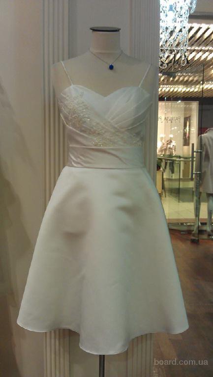 Новое платье французского производства