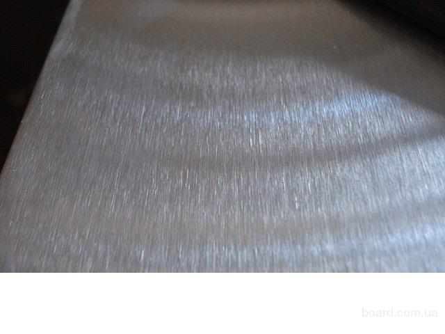 Лист нержавеющий AISI 201 12Х15Г9НД 1мм 1х1500х3000мм 1*1500*3000мм шлифованный в пленке  немагнитный