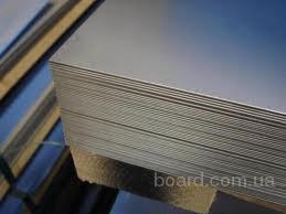 Лист нержавеющий технический AISI 430 12Х17 0,5мм 0,5х1000х2000мм 0,5*1000*2000мм зеркальный матовый шлифованный