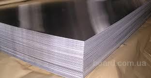 Лист нержавеющий технический AISI 430 12Х17 1мм 1х1250х2500мм шлифованный матовый зеркальный