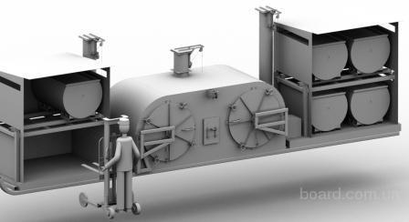Углевыжигательные мобильные и станционарные печи для производства древесного угля