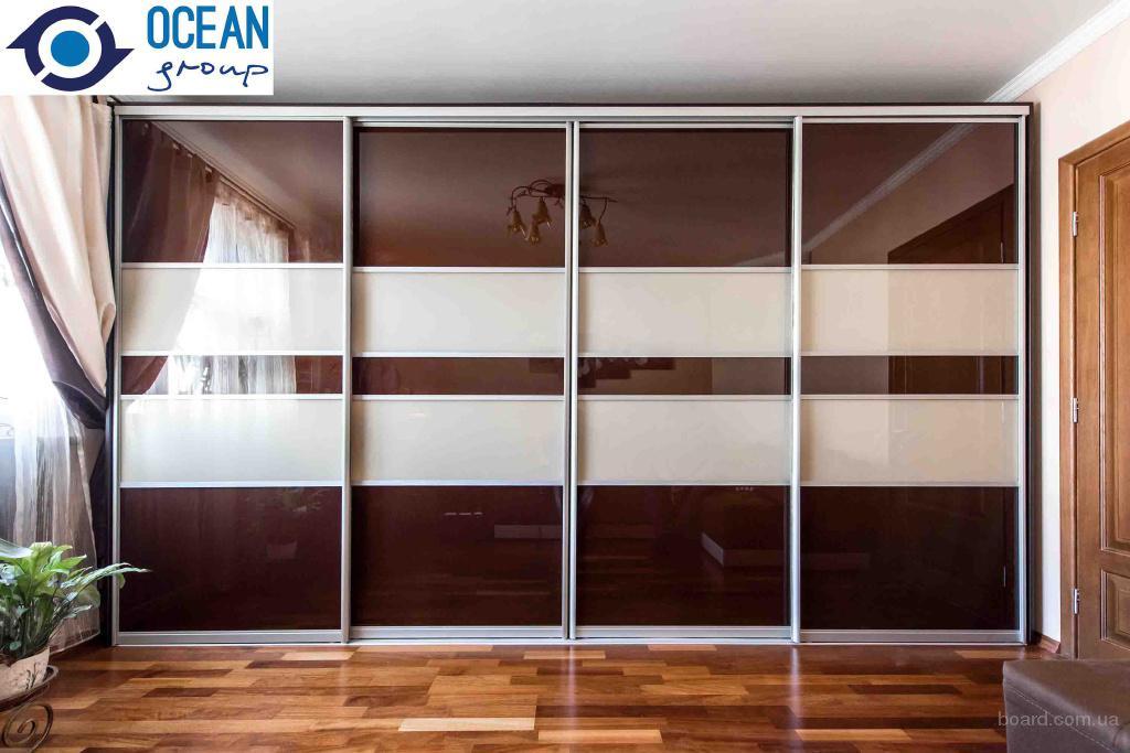 Шкафы купе под заказ от компании Ocean Group