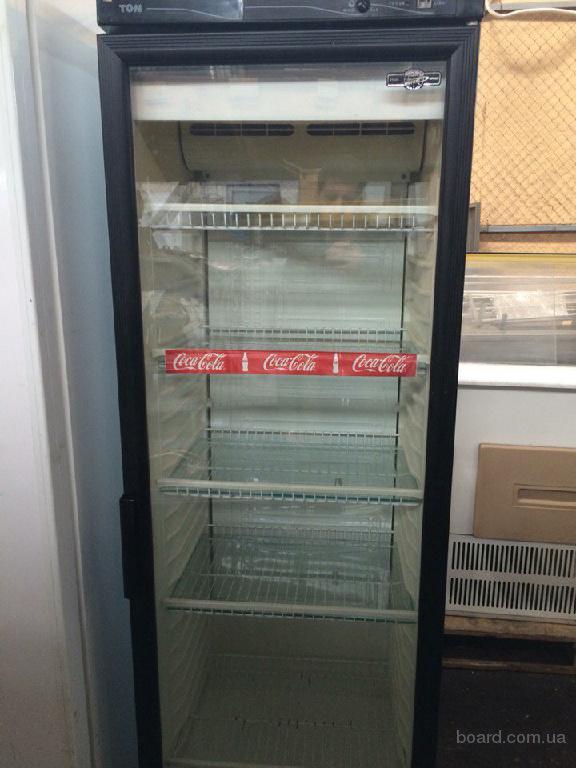 Продам холодильный шкаф со стеклянной дверью бу для кафе