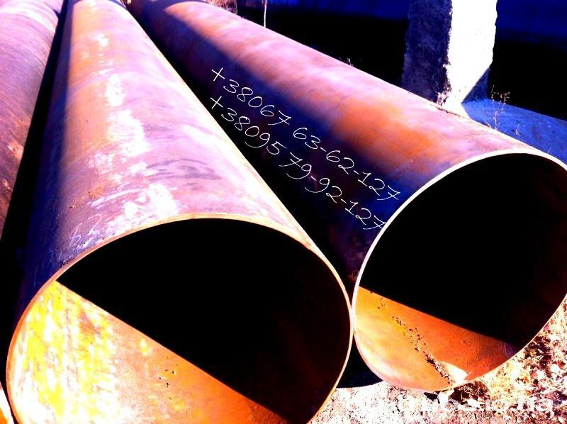 Трубы стальные б/у, демонтированные, лежалые  219 мм