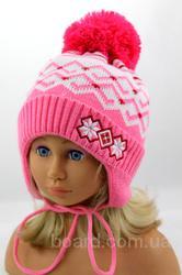 Зимняя шапка-ушанка, 48-52