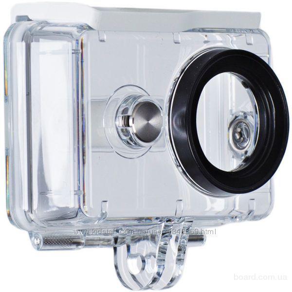 Кейс влагозащитный Xiaomi XYFSK02 для камеры YI  Xiaomi Waterproof Box for Camera Yi Sport  Оригинальная продукция Xiaomi    Погружение в воду до 1 м