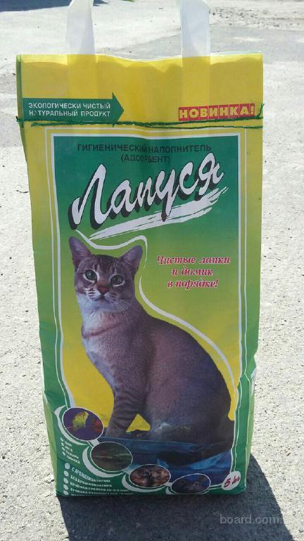 Продажа наполнителей горшков для котят