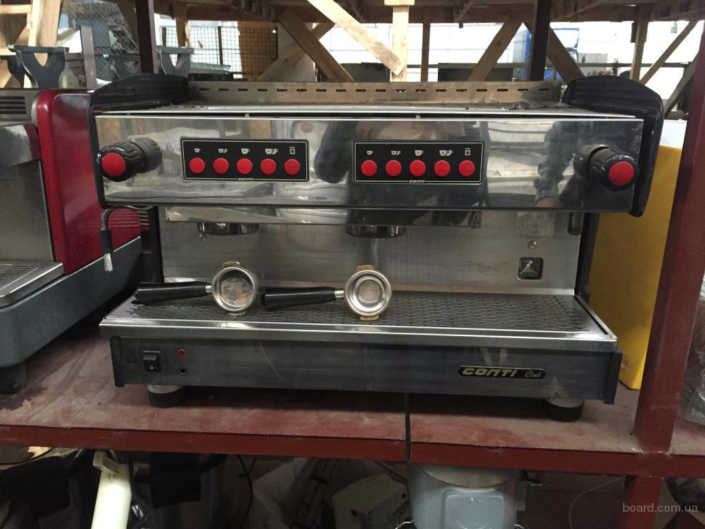 Продам двохпостовую кофемашину Conti бу