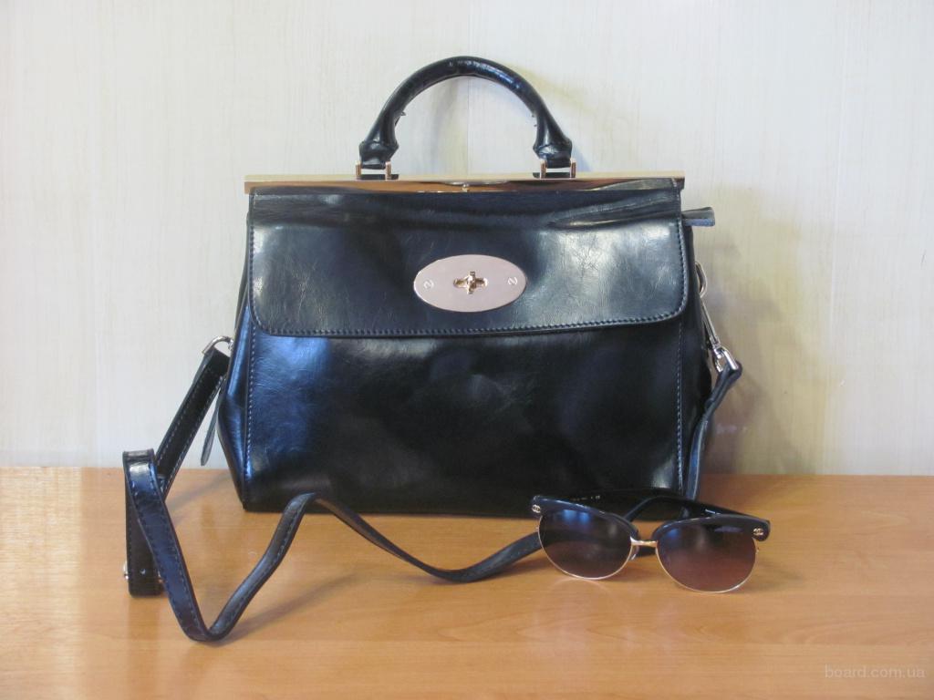 Шкіряна сумочка для цілеспрямованої жінки