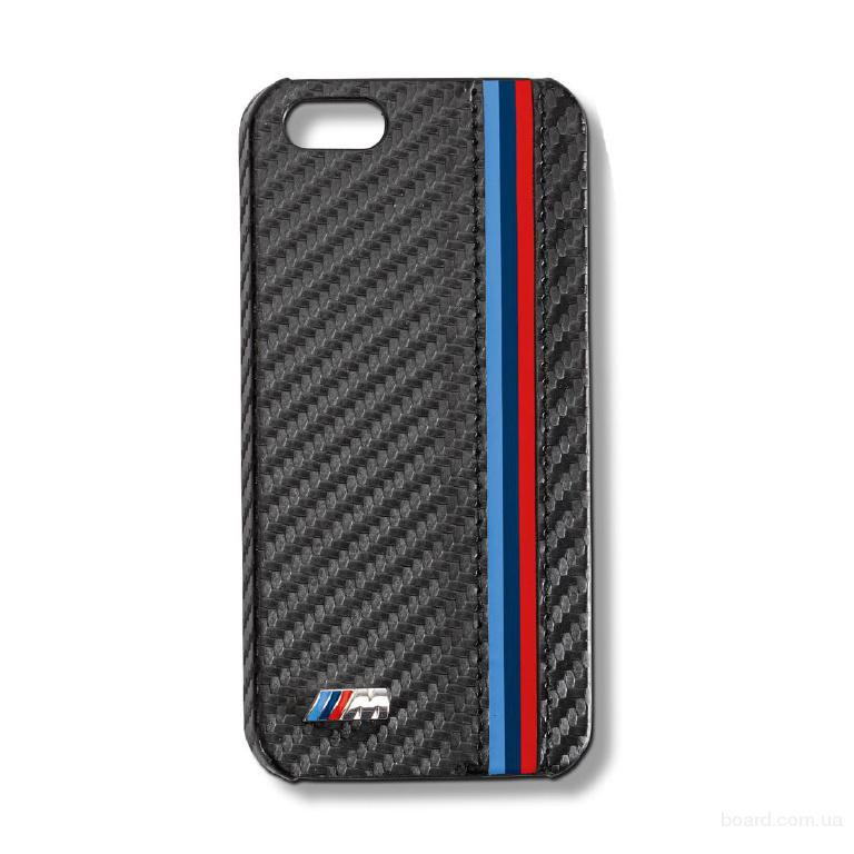 Чехол для iPhone 5/5S BMW M Carbon
