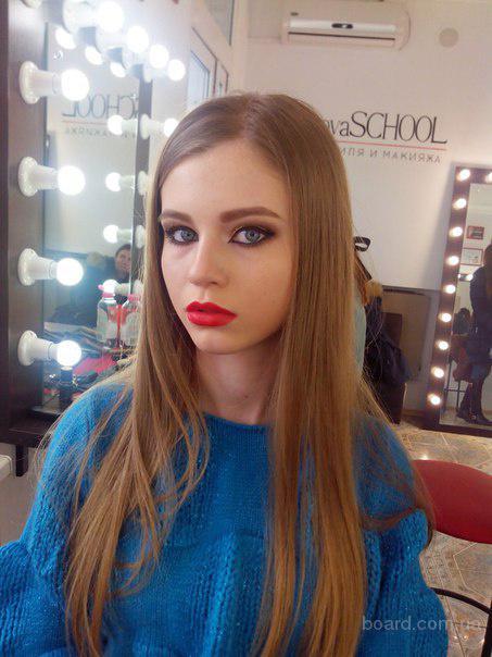 Стилист-визажист - все виды макияжа