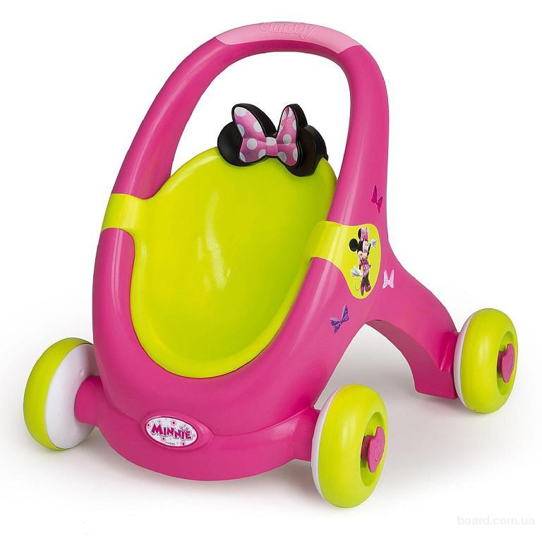 Ходунки Коляска для куклы  Minnie Mouse Smoby 160180