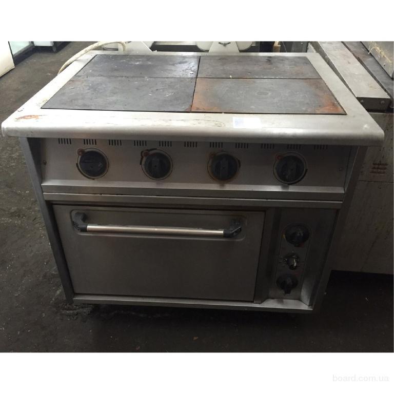Продам профессиональную плиту Abat бу