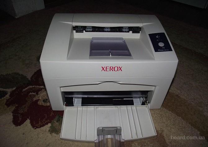 Продам 2 принтера Xerox Phaser 3125 (б/у, один рабочий) + 5 картриджей