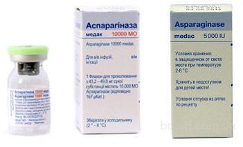 Аспарагиназа-Медак 10000 МЕ N5, Медак ГмбХ., Німеччина