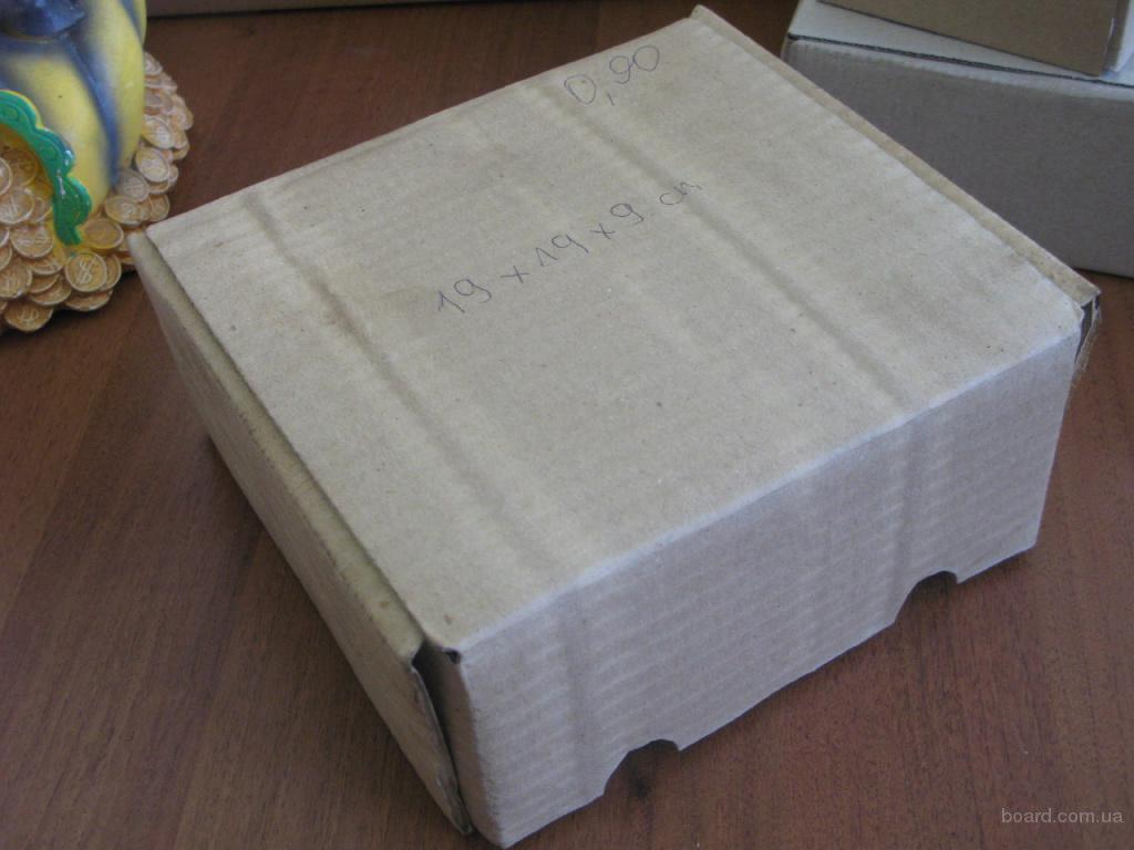 госты и размеры картонных коробок
