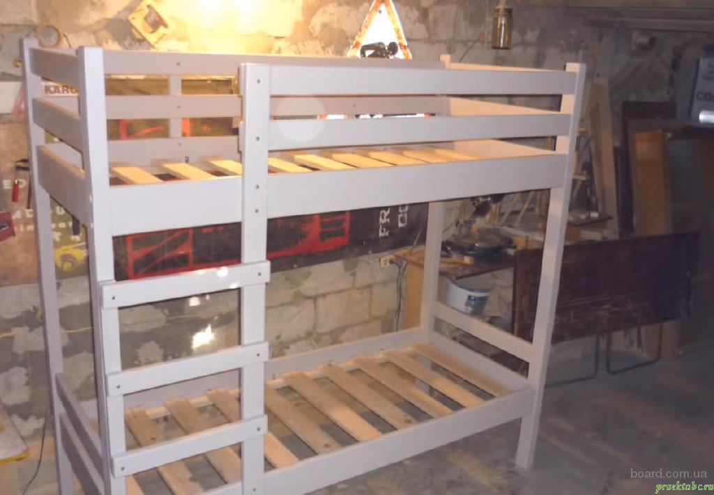 Новые двухъярусные деревянные кровати