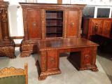 Мебель в кабинет, антикварный кабинет в стиле неоренессанс. Германия