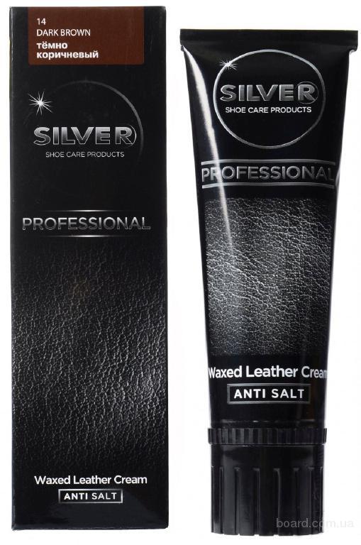 Крем-краска Silver для обуви Темно-коричневый 75мл (К – 004)