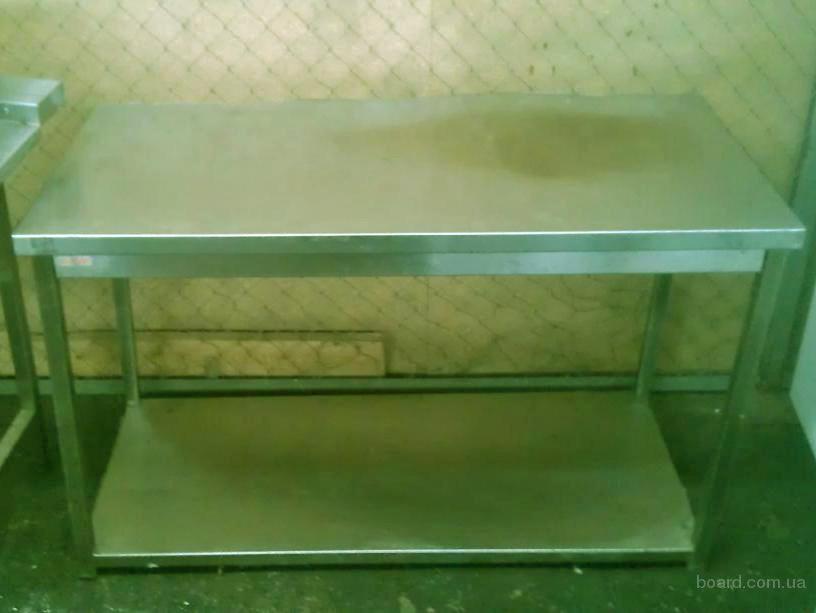 Бу стол производственный для кухни общепита