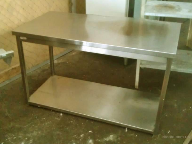 Продам бу производственный стол из нержавеющей стали