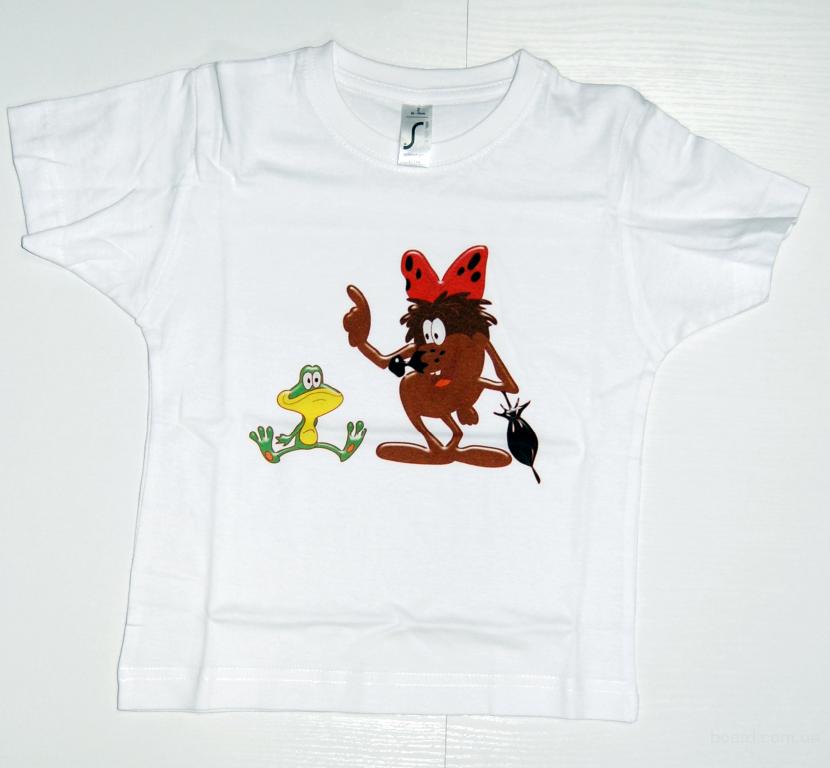 печать футболках самому