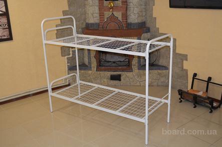 Кровать металлическая, двухъярусная кровать,кровати металлические, кровать дешевая,недорого кровати