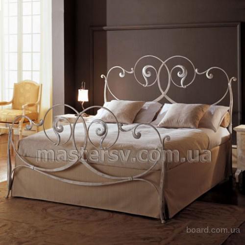Кованые кровати от компании MasterSV - доставка по Украине