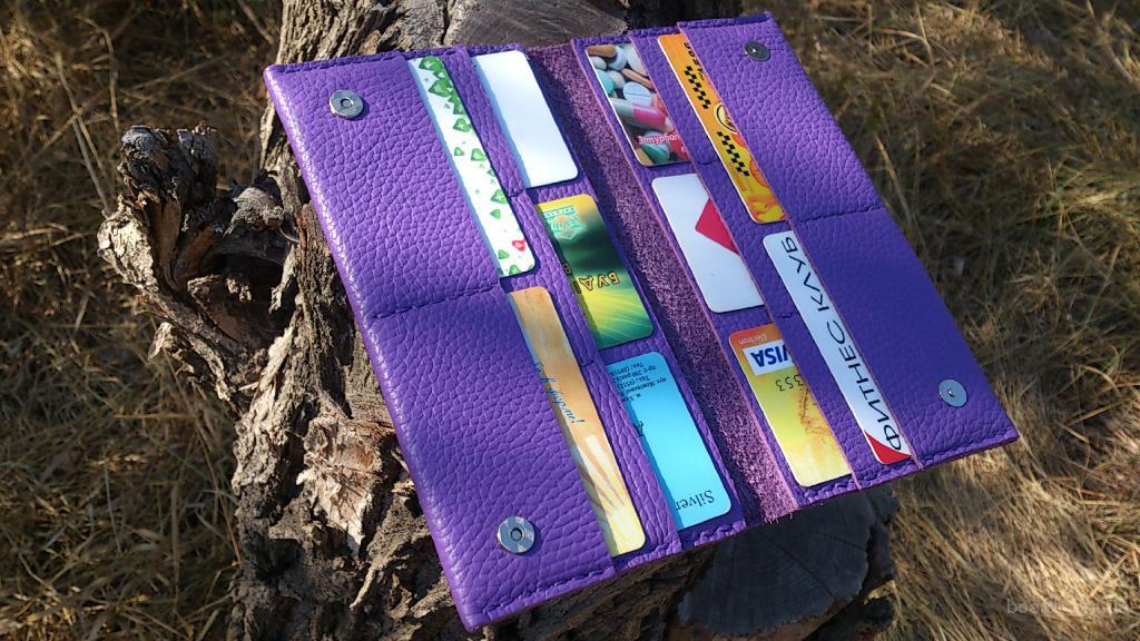 Тревел Travel case кошелек, портмоне сиреневый