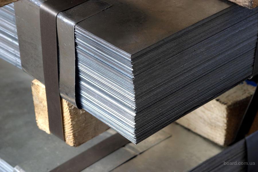 Лист стальной 2,5х/к , 08КП