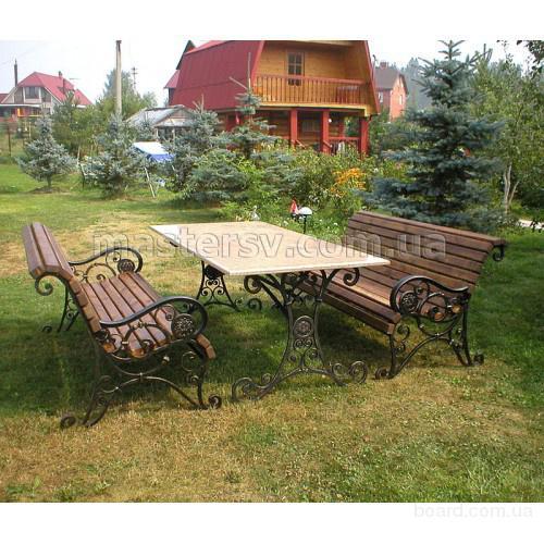 Кованная мебель, изделия и аксессуары для сада с доставкой по Украине